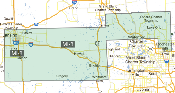 Michigan's 8th Congressional District | Michigan's 8th ...